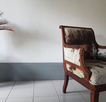 Vintage armchair. Upholstery service by the boutique atelier