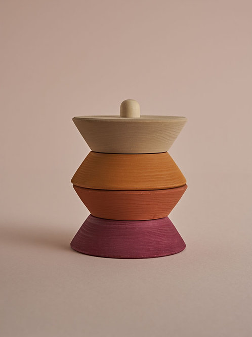 Small Sculpture Stacking Tower