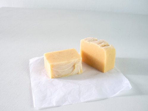 Orange Soap Bar for Hands and Body