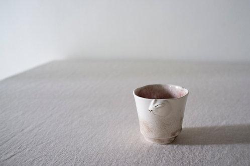Brown Rabbit Cup by Natalia Nechaitchik