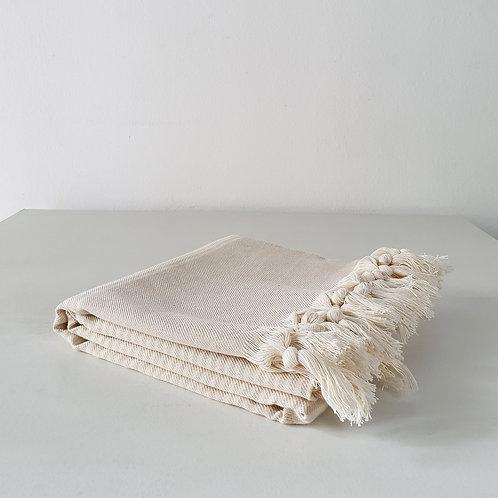 Soke Towel: Pale Cappuccino
