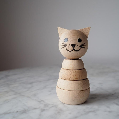 Cat Stacking Toy