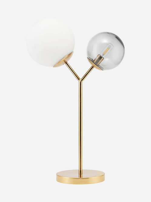 Twice Table Lamp Brass by House Doctor