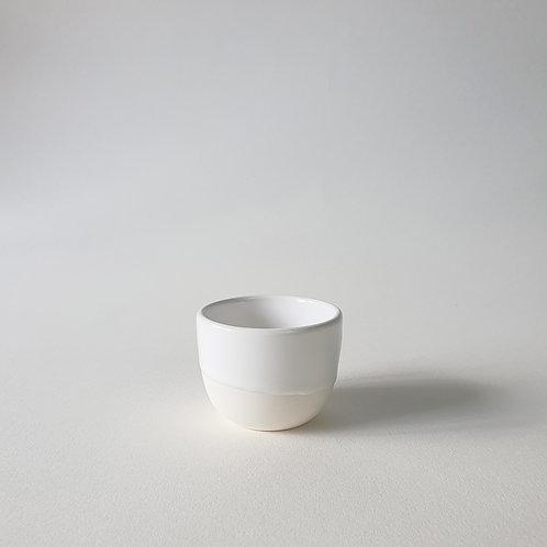 White Porcelain Cup by NOK Studio
