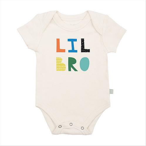 Lil Bro Organic Cotton Bodysuit by Finn & Emma