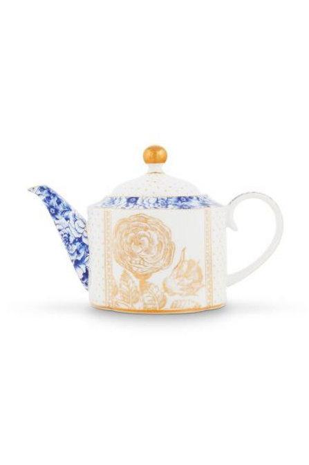 Teapot Royal White 900 ml by Pip Studio
