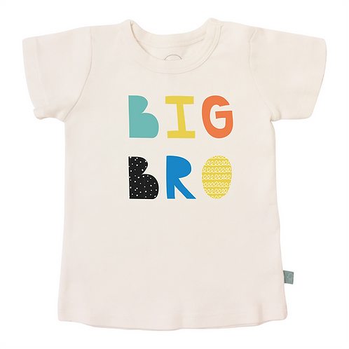 Big Bro Organic Cotton Tee by Finn & Emma