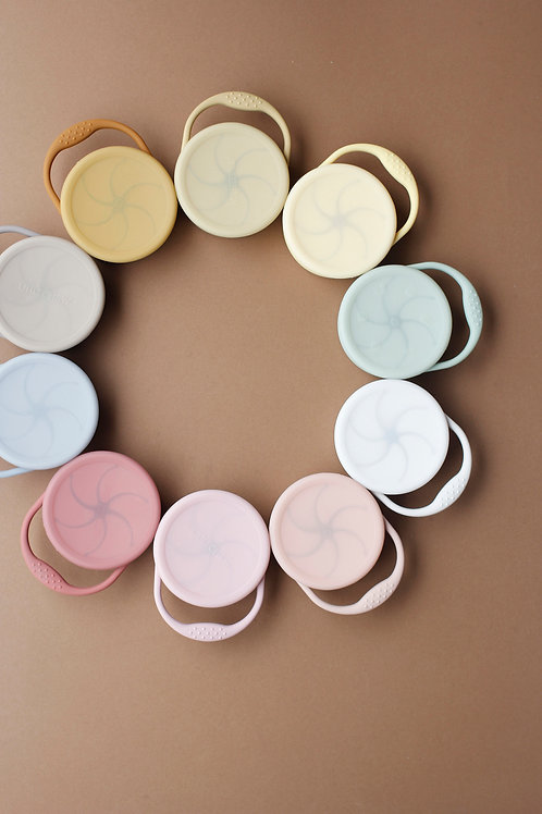 Silicone Snack Cup by Little Chew