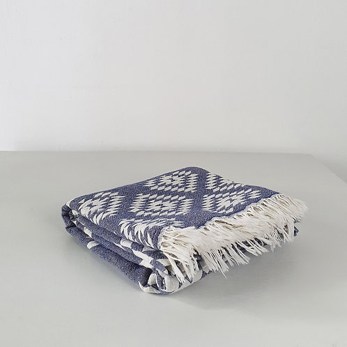 Terme Towel: Purple-Grey