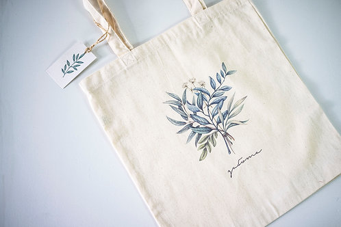 """CARE"" Shopper by The Botanic Bags Studio"