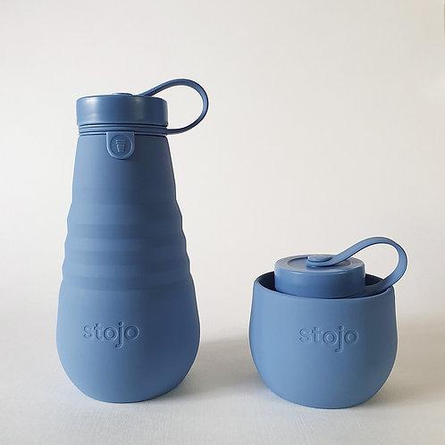 Stojo Collapsible Bottle - Steel