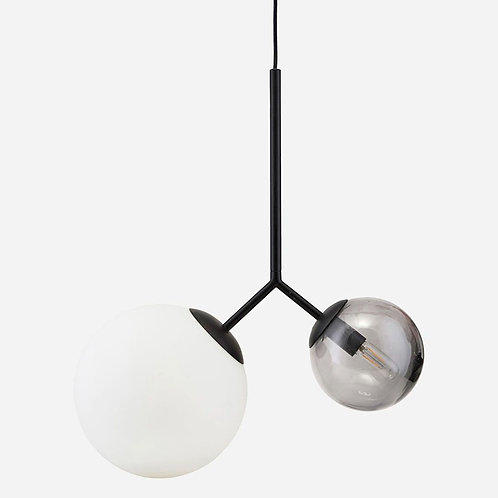 Twice Lamp Black by House Doctor