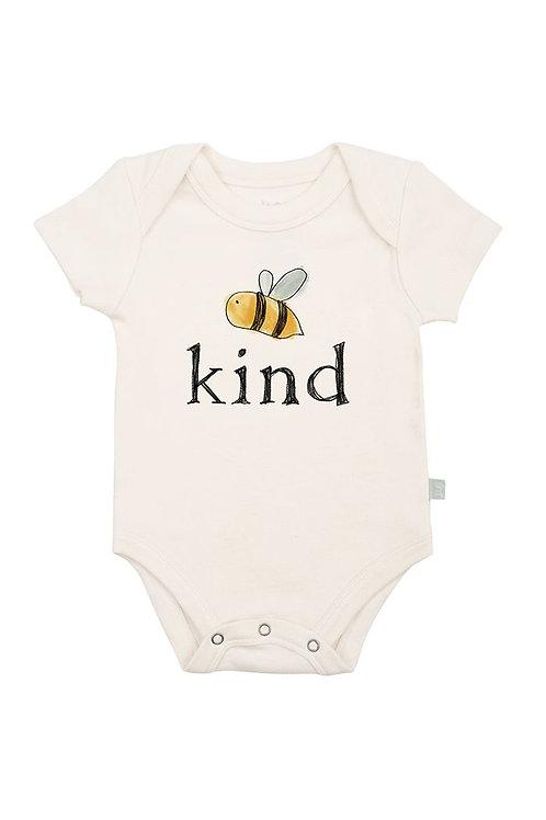 Bumble Bee Kind Organic Cotton Bodysuit by Finn & Emma