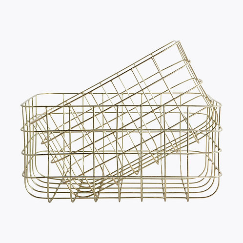 Simply Shiny Gold Baskets