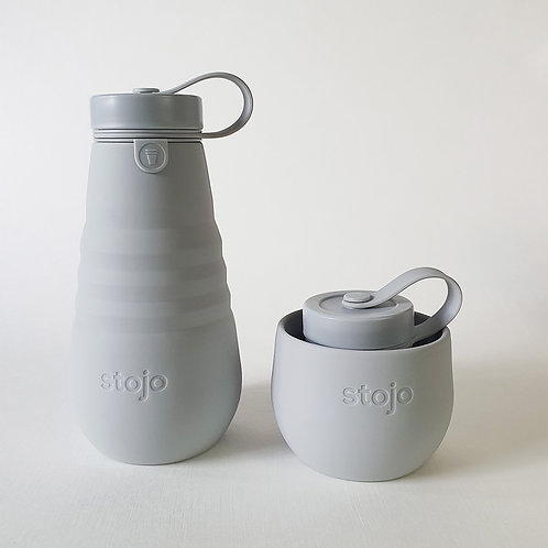 Stojo Collapsible Bottle - Cashmere