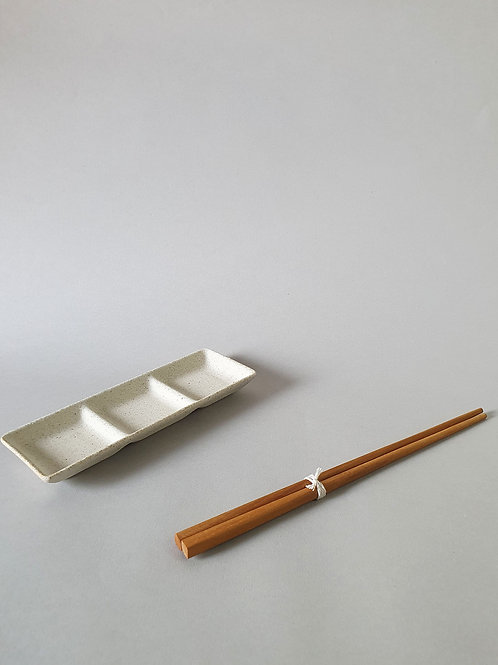 Japanese Collection: 3-Section Dish for Condiments
