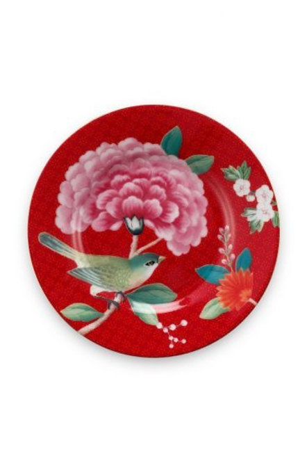Blushing Birds Petit Four Red 12 cm by Pip Studio