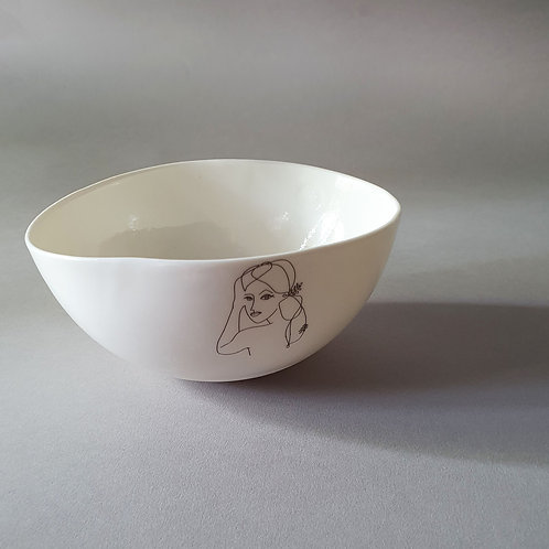 """The Girl"" Bowl by Sophie Masson"