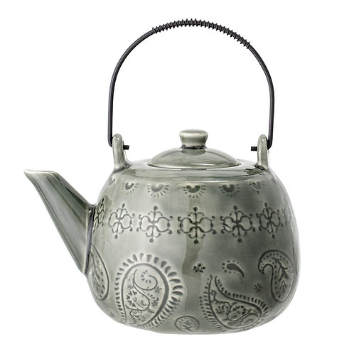 Rani Teapot with Teastrainer, Stoneware