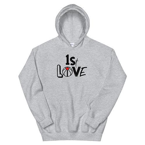 1st Love (Black Ink) Unisex Hoodie