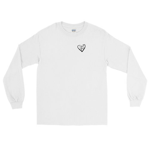 1st Love (Black Symbol) Men's Long Sleeve Shirt