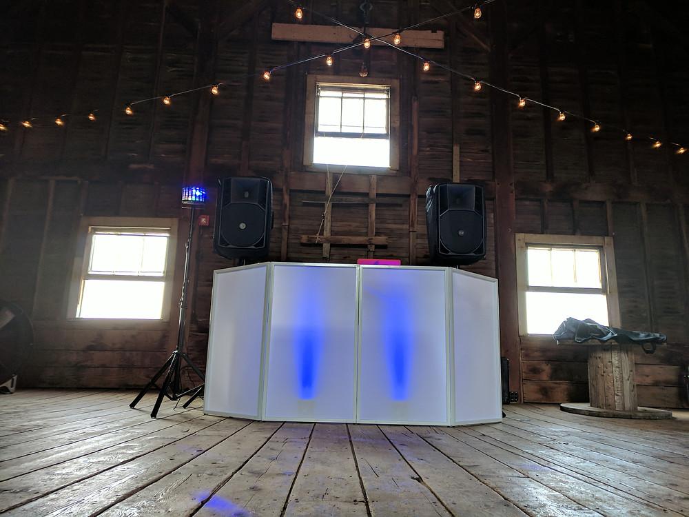 hudson valley wedding soundsational setup level 1