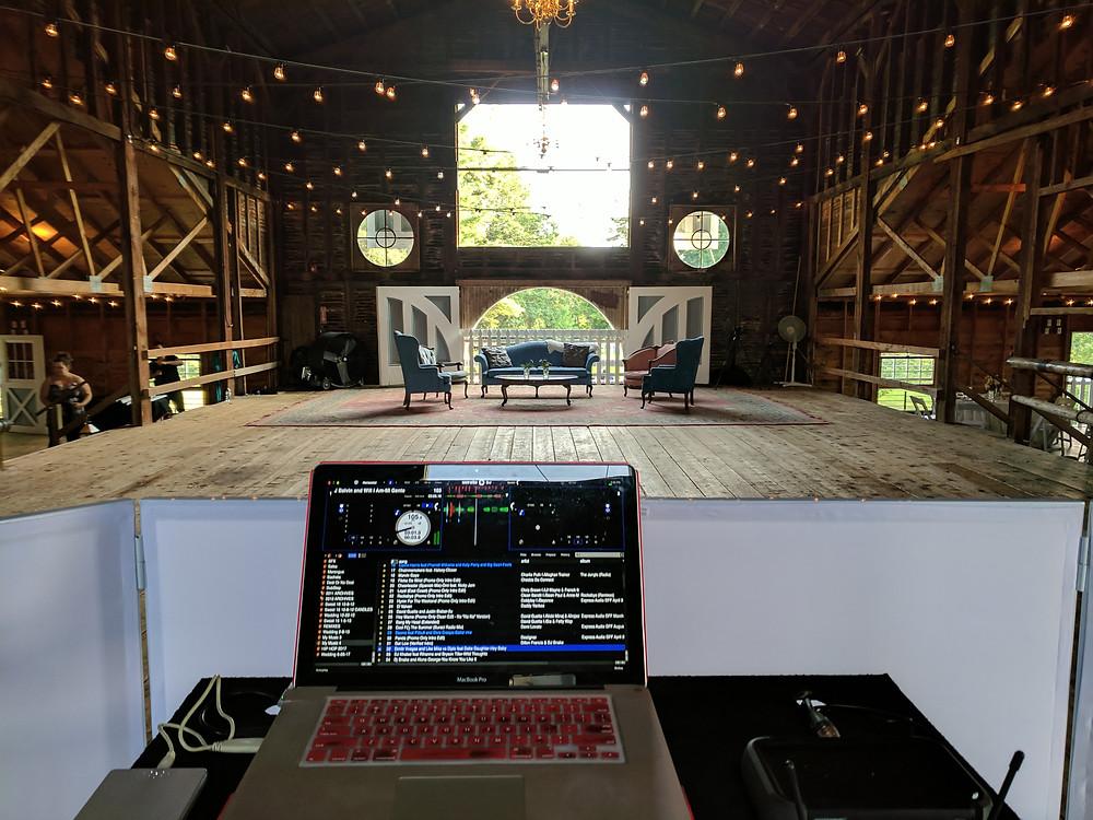 Hudson Valley Weddings at the Hill DJ