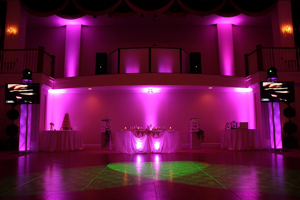 lighting design wedding dj soundsational