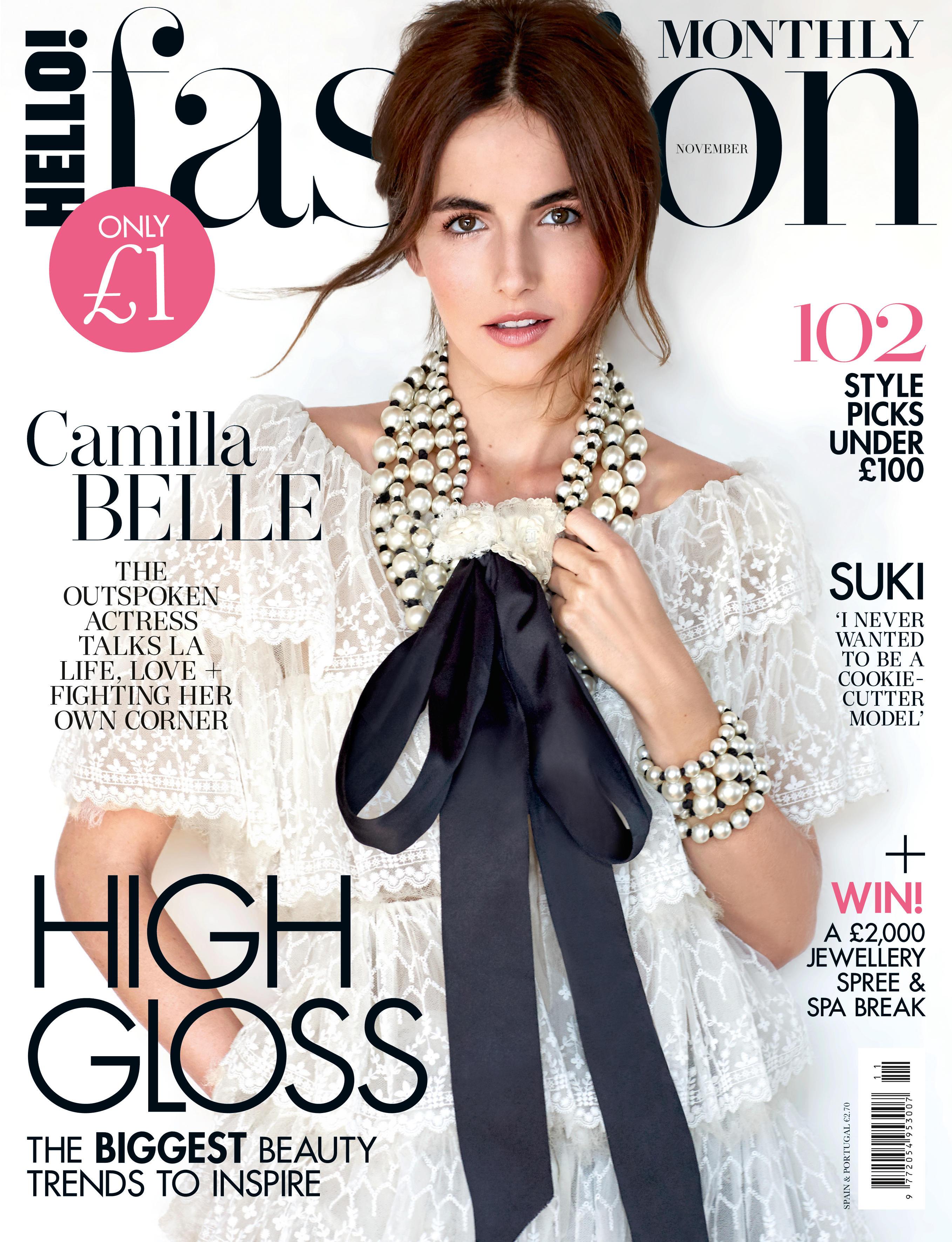 Camilla Belle for Hello Fashion UK