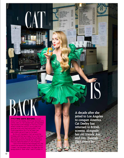 GRAZIA for Cat Deeley