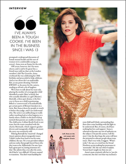 Grazia UK Anna Friel