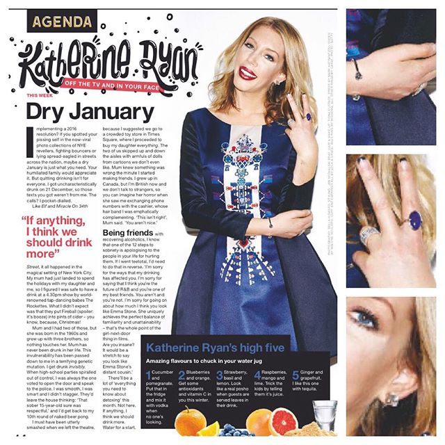 Katherine Ryan, NME magazine