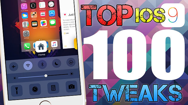 Top 100 Cydia Tweaks for iOS 9 3 3 - 2016