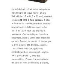 Gazette Drouot Mars 2016 - Alexis Renard