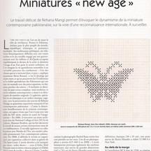Article Gazette Drouot 12 février 2010