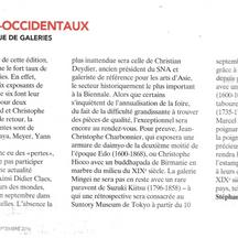 Gazette Drouot, Septembre 2016 - Alexis Renard