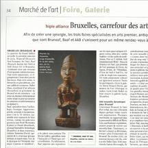 Le Journal des Arts, Juin 2014 - Alexis