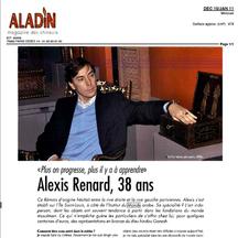 Aladin, Aladin, Novembre 2010 - Alexis Renard