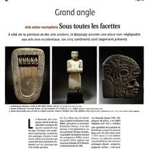 Le Journal des Arts, Septembre 2016