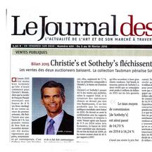 Le Journal des Arts, Février 2016 - ALe