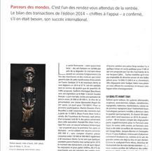 Gazette Drouot, Septembre 2015 - Alexis Renard