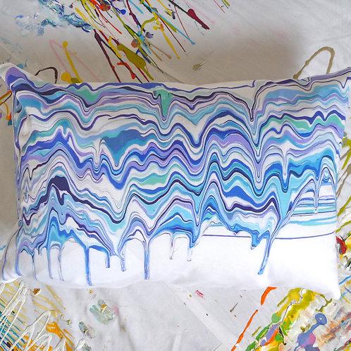 """Pillow - """"Skarph I"""", 12in. x 18in."""