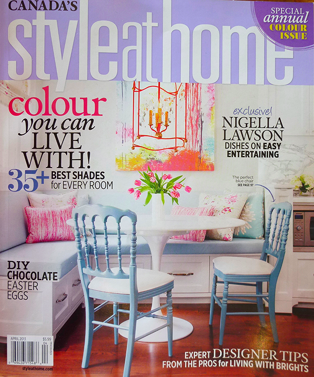 Cover of Style at Home magazine