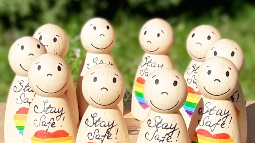 Rainbow Pal/Self-isolation Stay Safe gift
