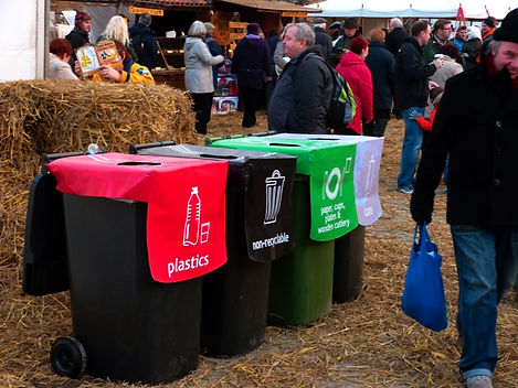 Zero Waste Events Bins at Food Festival