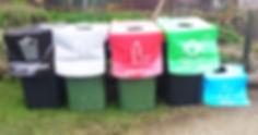 Zero Waste Events Bin Set