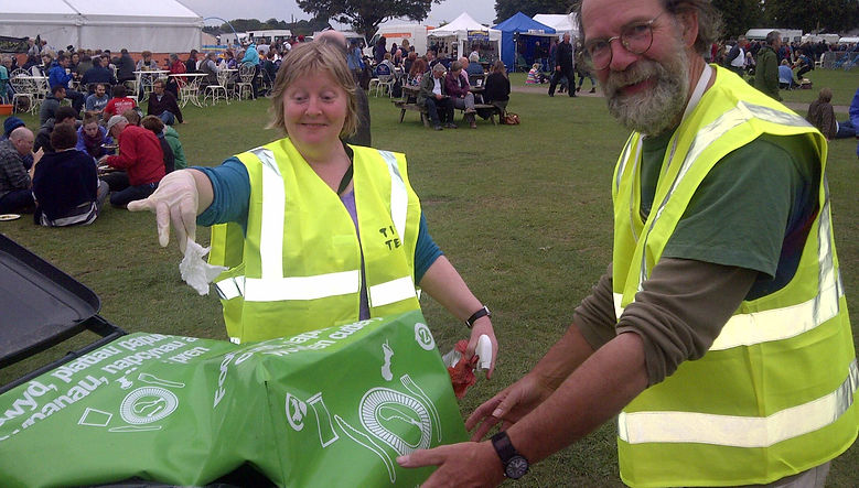 Zero Waste Events Management at Shrewsbury Food Festival