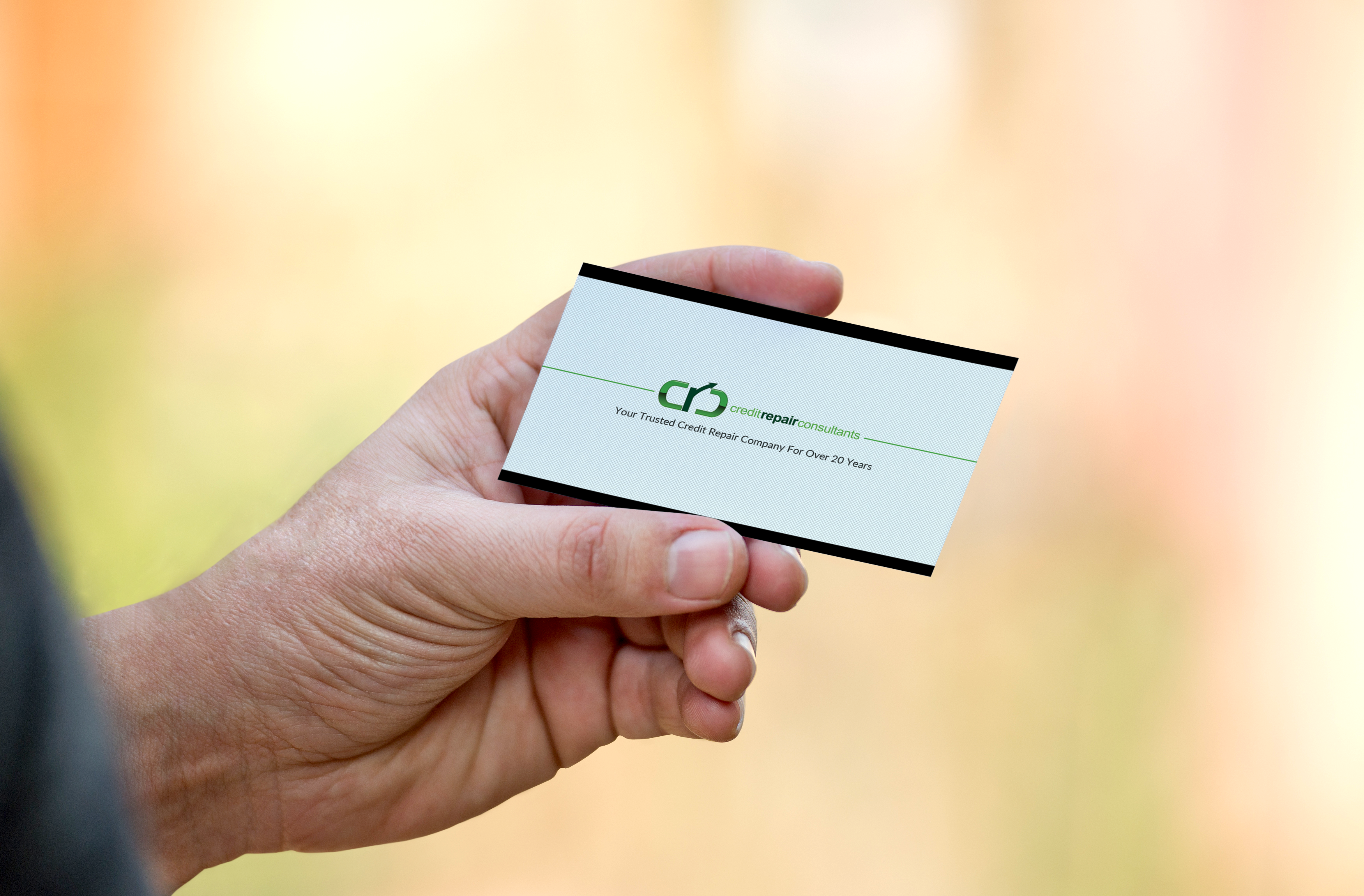 Business Card mockup- Front