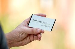 Business Card mockup-Back