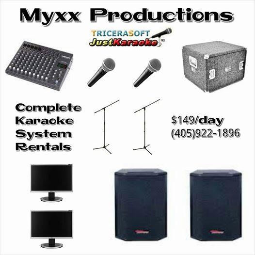 Oklahoma CIty Karaoke Rentals